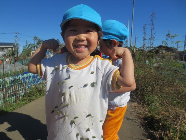 わかば組(3歳児)☆お散歩